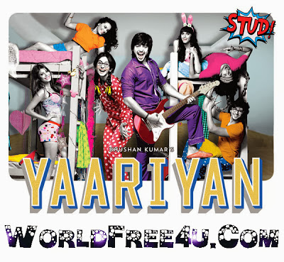 Poster Of Hindi Movie Yaariyan (2014) Free Download Full New Hindi Movie Watch Online At worldfree4u.com