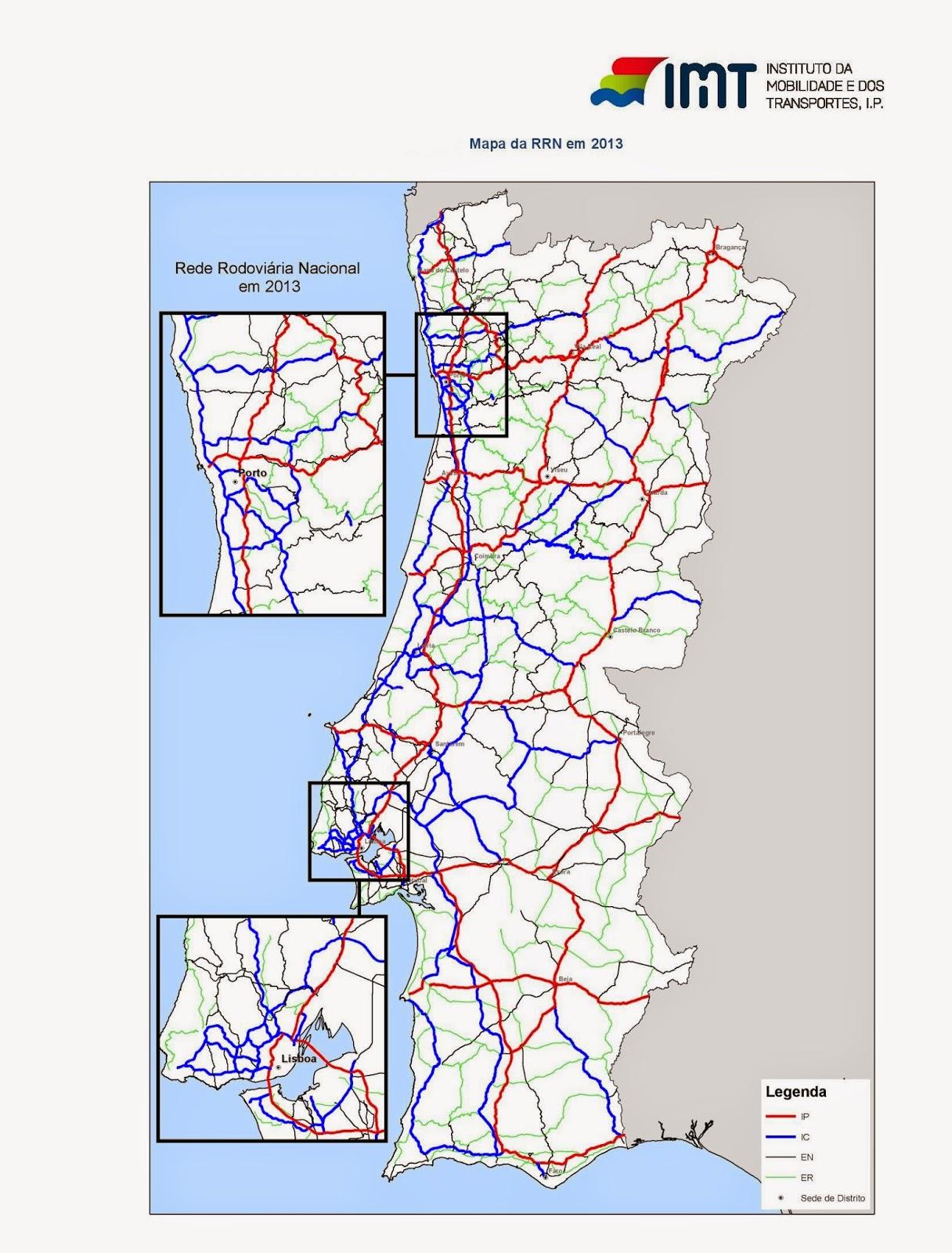 mapa de autoestradas de portugal 2013 Estradas de Portugal   SkyscraperCity mapa de autoestradas de portugal 2013