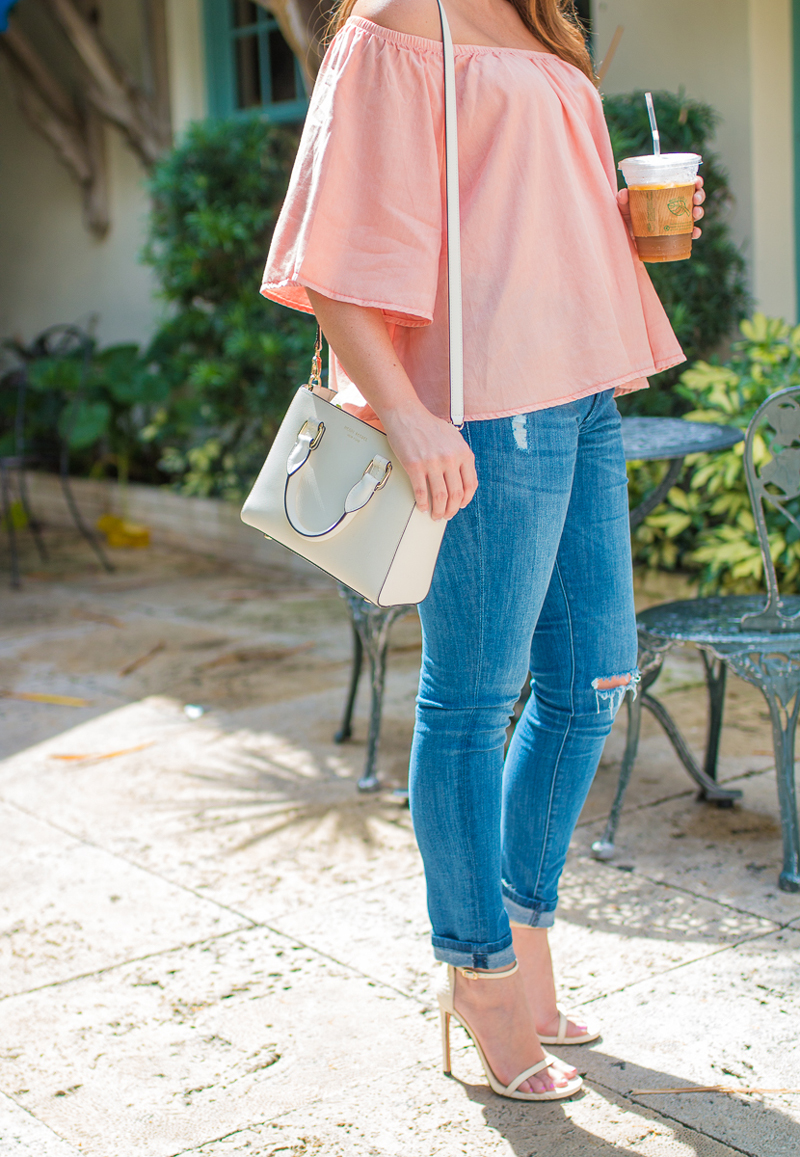 South Florida fashion blogger in summer trends.