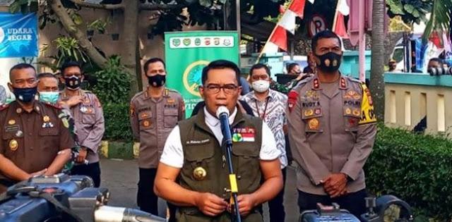 Sudah Disuntik Vaksin Covid-19, Ridwan Kamil Diminta Tak Keluyuran