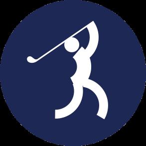 Icon Logo Golf Asian Games 2018