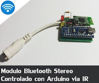 Sonido por Bluetooth y Arduino