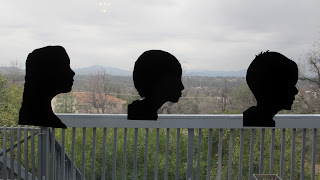 Silhouettes in honor of Dr Seuss
