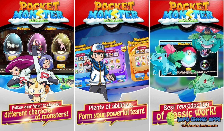 Pocket Monster - Remake v1.0.4 Apk Download for Android ...