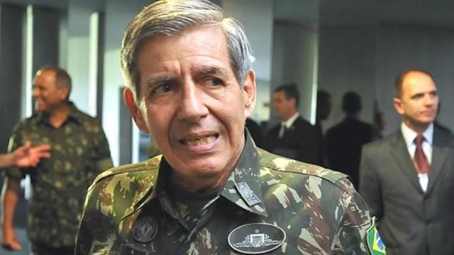 """GENERAL HELENO: """"BOM BRASILEIRO NÃO SE UNE A ORGANIZAÇÃO ESTRANGEIRA COM INTERESSES EXPLICITAMENTE CONTRÁRIOS AOS NOSSOS"""""""