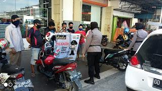 Polres Pelabuhan Tingkatkan Patroli Dialogis Imbau Prokes di Pilkada Serentak 2020