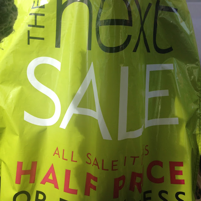 Next, Next Sale, Sunday Outings, Blogging
