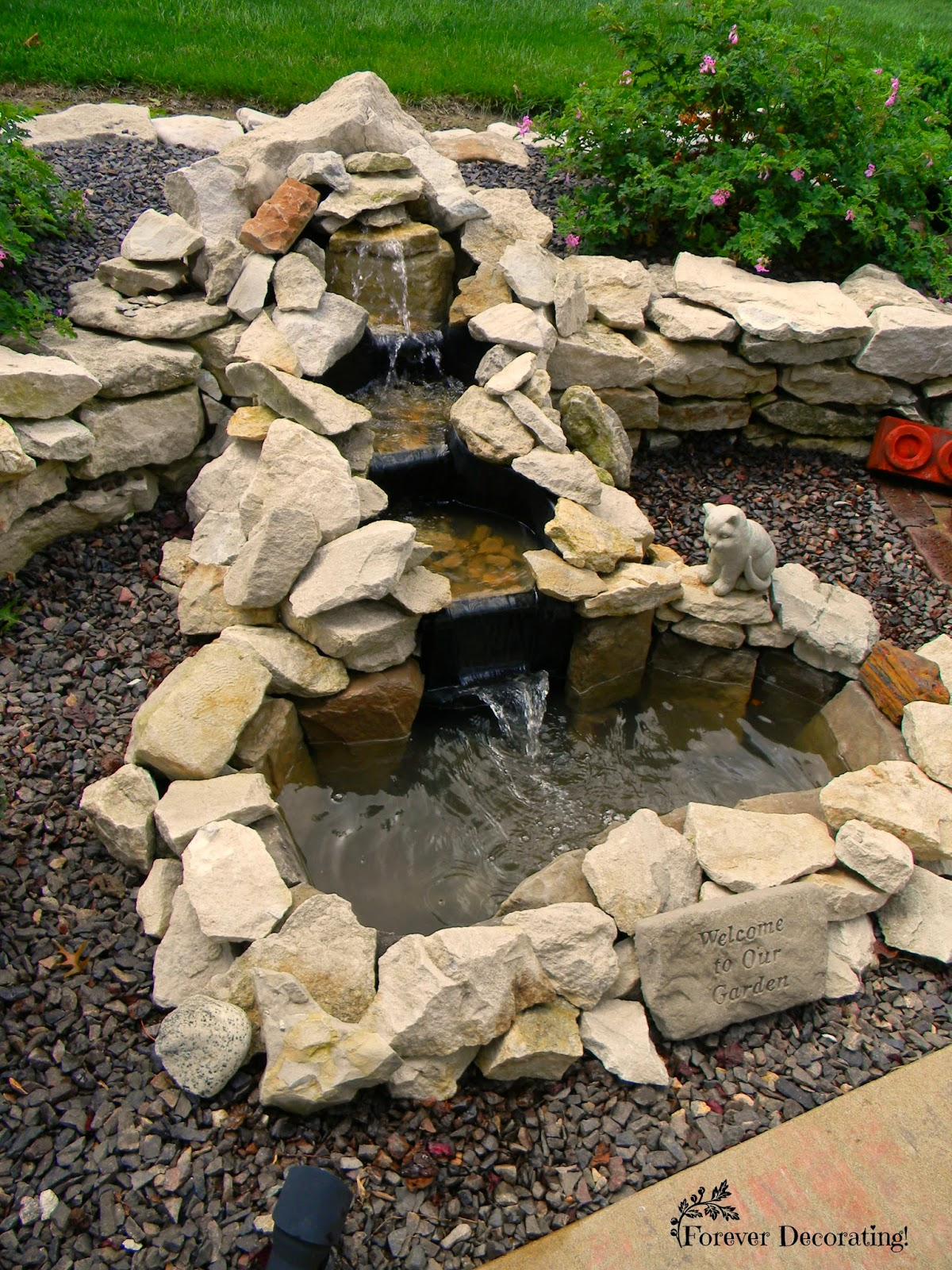 Forever Decorating!: From Fountain to Pond