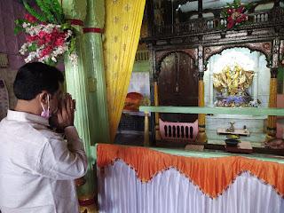 भाजपा जिलाध्यक्ष ने की सीएम से बात, कलेक्टर ने रात 9 से 12 बजे तक बालाजी महाराज का रथ निकालने की दी परिमिशन