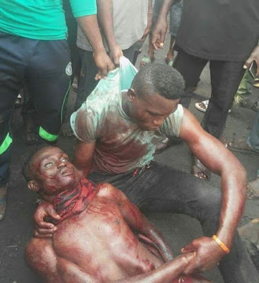 Photo: Young man stabs his friend to death in Lagos during fight over N1000 note they found on the ground
