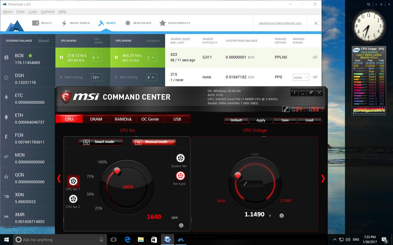 GTX 1060 G1 Gaming Mining