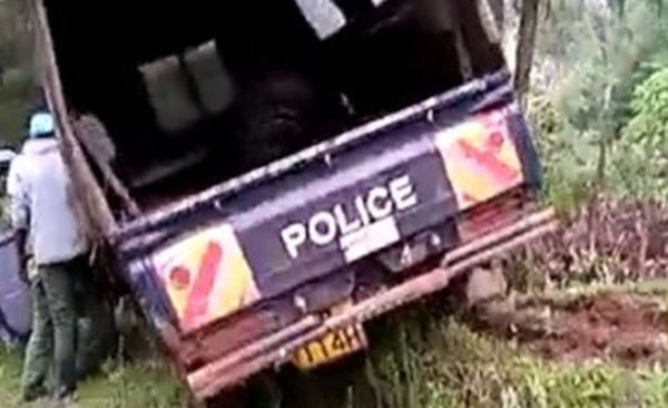 Kenyan police officer who crashed police vehicle while drunk commits suicide inside police station