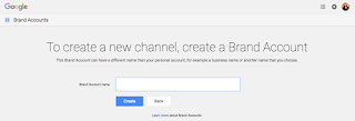 2. Make another YouTube channel using your Google account.