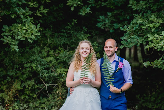 A Forest Fairytale Wedding at Caddihoe Scount camp in Devon: Chloe & James