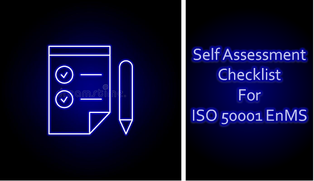 ISO 50001 Audit Self Assessment Checklist