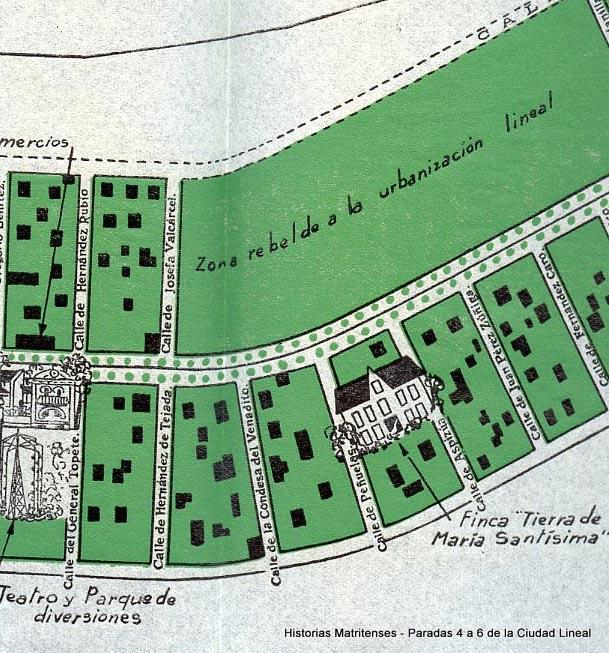 Historias Matritenses Las Paradas De La Ciudad Lineal