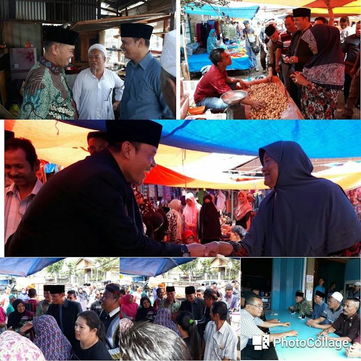 Zainal-Arsal, Blusukan Ke Pasar Tamiai Hingga Seruput Kopi.