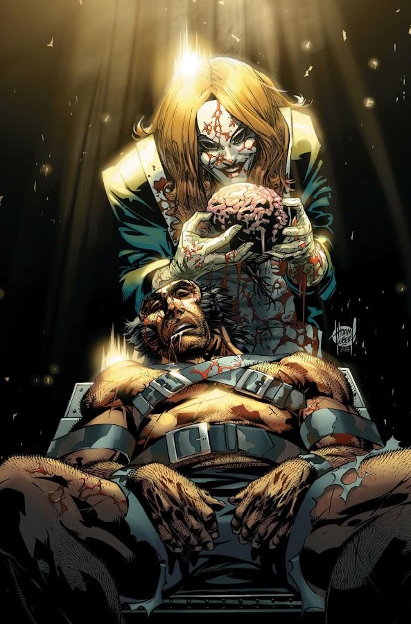 wolverine weapon x logan vs doctor rot dunwich marvel comics jason aaron yanick paquette adam kubert