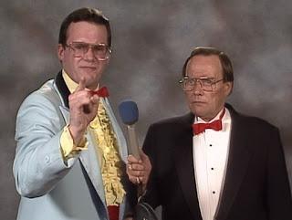 WCW / NWA Great American Bash 1989 - Jim Cornette talks to Gordon Sollie