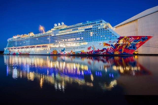 【郵輪旅程】雲頂夢號化身海上舞台 躍動光影色彩繽紛