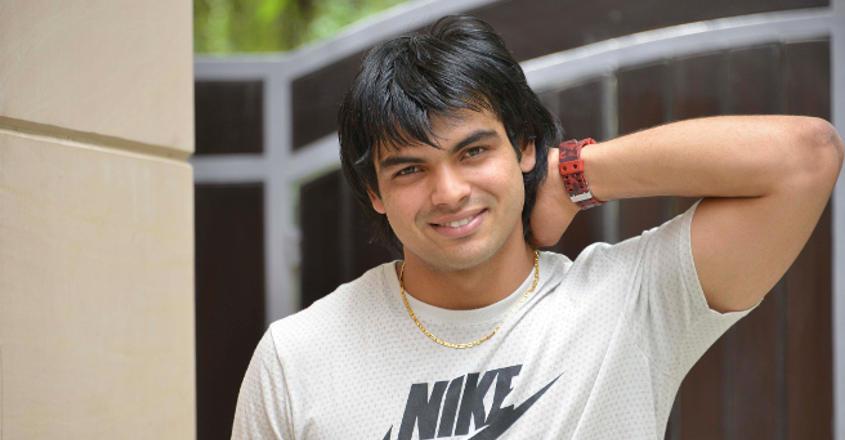 Neeraj Chopra Handsome Picture
