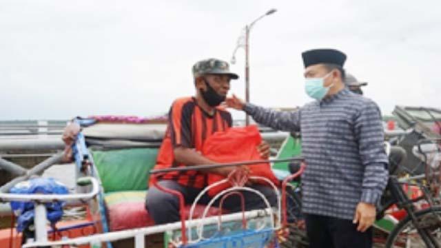 Gubernur Silaturahmi Dengan Warga Kuala Tungkal