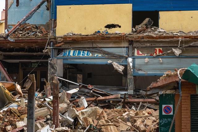 saat terjadi gempa