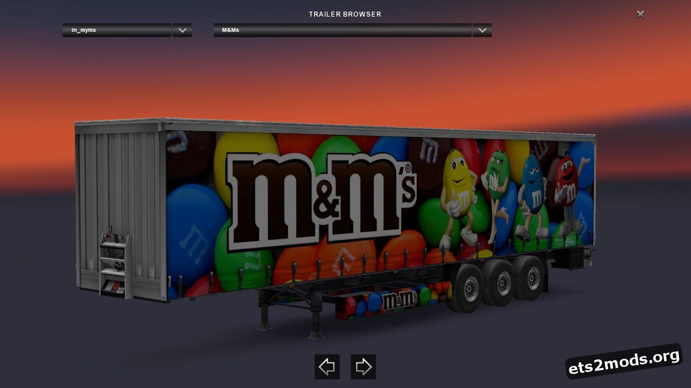 M&M's Standalone Trailer