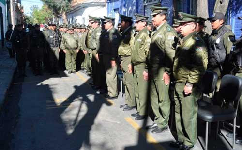 Resguardarán Villazón con 200 policías de Tarija