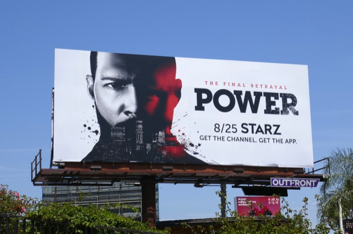 Power final season 6 Starz billboard