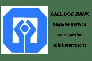 Uco Bank Balance Check Number