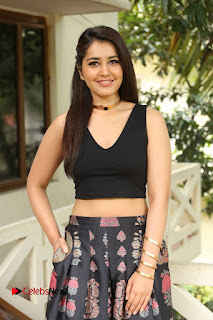 Actress Rashi Khanna Pictures at Hyper Movie Interview 0144