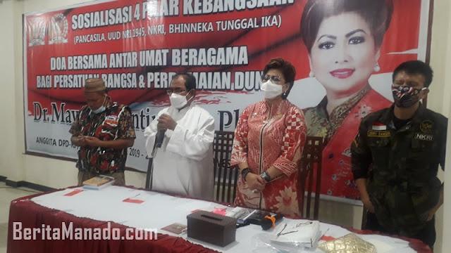 Senator Maya Rumantir Gandeng Tokoh Agama Doakan Bangsa Indonesia dan Perdamaian Dunia
