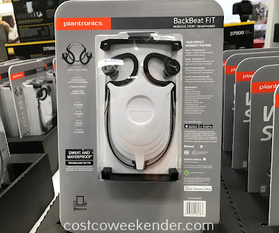 Costco 1040666 - Plantronics BackBeat FIT Wireless Sport Headphones: great for running and any workout