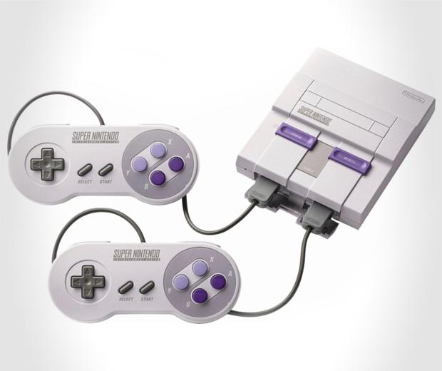Classic Super Nintendo System