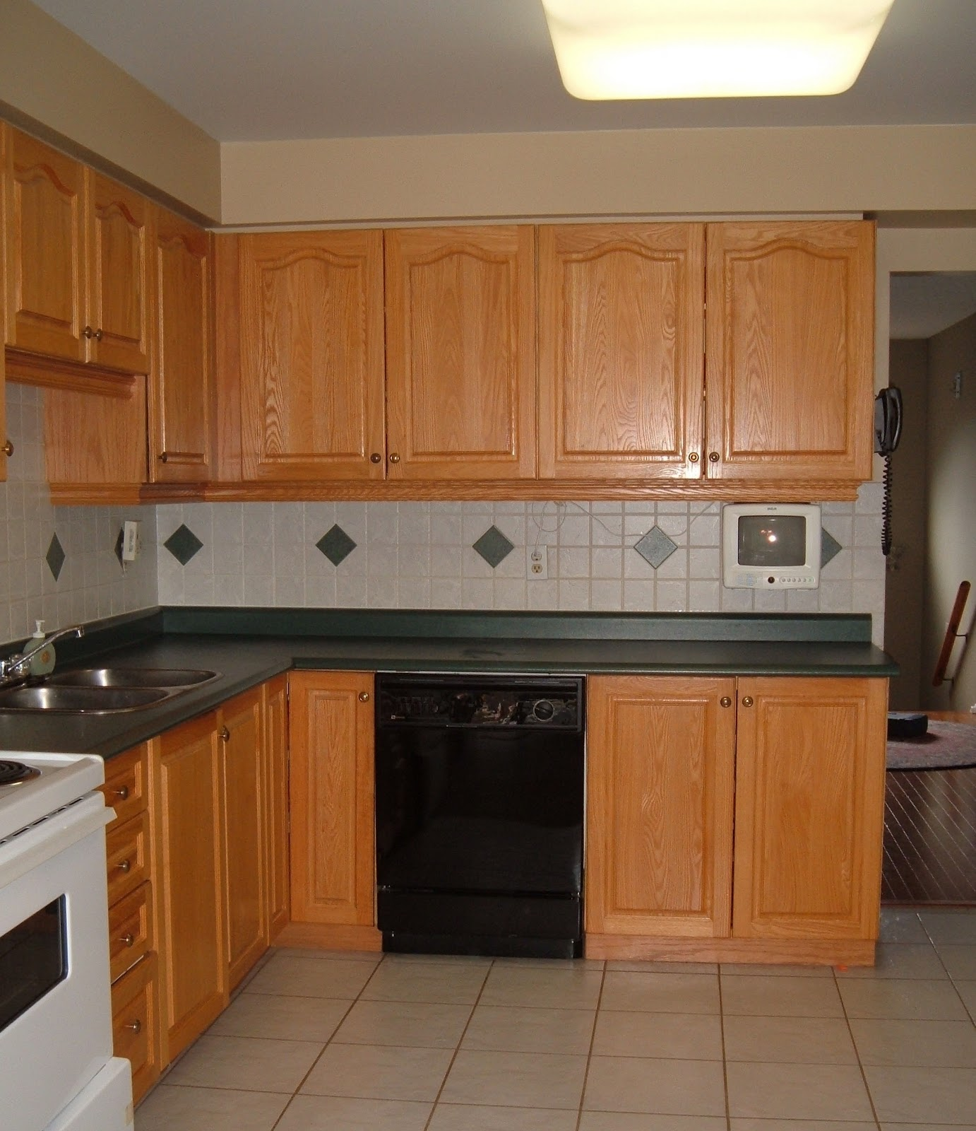 kitchen before after out with oak wholesale kitchen cabinets Kitchen Before After Out With The Oak
