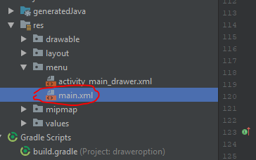 membuat navigation drawer dan option menu di android dengan android studio