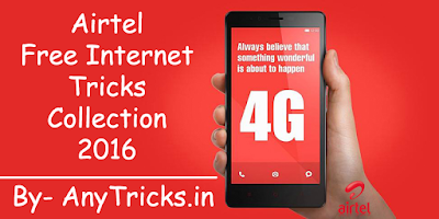 Airtel Unlimited Tricks July 2016 | Any Type Tricks