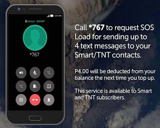 Smart and TNT SOS Load – Send Texts Even When you Have Zero Balance