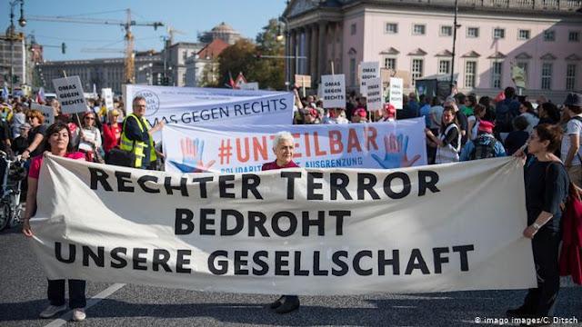 A extrema-direita é a principal ameaça à segurança na Alemanha, afirma governo