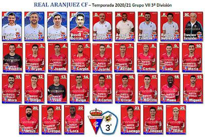 Fotos Plantilla Real Aranjuez CF 2020 21