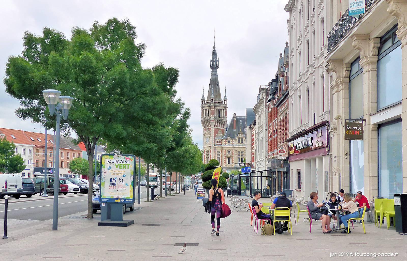 Place de la République Tourcoing - La Mie Câline