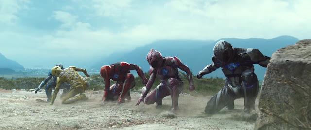 Power Rangers en cuclillas pa fostiar a los masillas