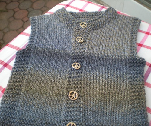 Quick-Knit Vest - Free Pattern
