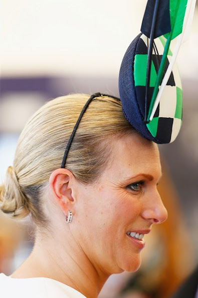 Queen Elizabeth's granddaughter Zara Phillips. Kate Middleton, Princess Charlotte, Mia Tindall, style of Zara, fashions, winter dress