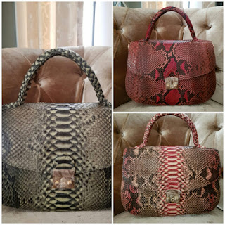 Tas kulit ular phyton