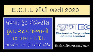 ECIL Recruitment - Apply Online for 285 ITI Trade Apprentices Posts