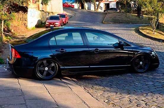 Honda Civic com Suspensão a Ar