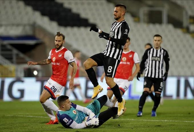 Partizan pobedio, Holender se iskupio za promašen penal! /VIDEO/
