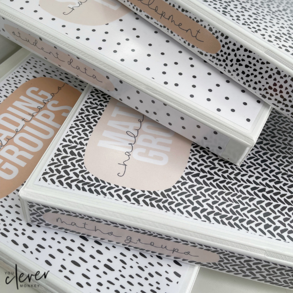 Get back to school in style with our gorgeous modern B+W NEUTRALS  classroom decor! A new classic for the classroom many teachers will love   you clever monkey